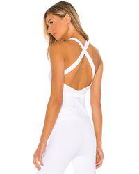 Alo Yoga Harness Tank - Weiß