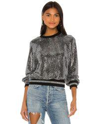 Pam & Gela Mirror Ball スパンコールスウェットシャツ - メタリック