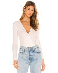 AG Jeans Lola Bodysuit - White