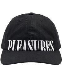Pleasures Dome Low Profile Hat - Schwarz