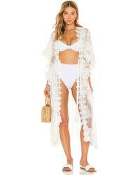 Waimari Regatta Kimono - Weiß