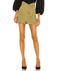 Marissa Webb Brooke Heavy Canvas Mini Skirt - Green