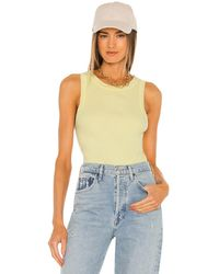 Citizens of Humanity Isabel Rib Tank - Brown