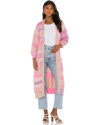 LoveShackFancy Grayson Duster - Pink