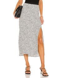 Sanctuary Good Times Midi Skirt - Mehrfarbig