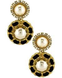 8 Other Reasons X Revolve Mademoiselle Earrings - Metallic