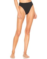 Vitamin A - Sienna High Waist Bottom In Black - Lyst