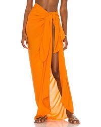 Indah サロン - オレンジ