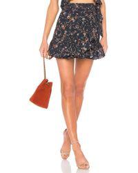 Tularosa - Maida Ruffle Skirt In Black - Lyst