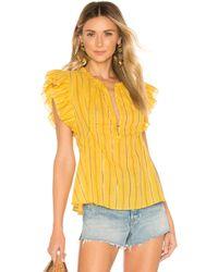 Apiece Apart Maria Del Mar Top - Yellow