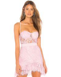 Nbd X NAVEN Caroline Bodysuit - Pink