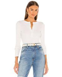 Nili Lotan Jordan Tシャツ - ホワイト