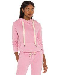 NSF Lisse Raglan Pullover Hoodie - Pink