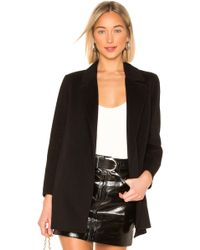 Theory - Clairene Coat In Black - Lyst