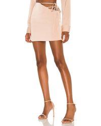 Nbd Mirrorball ミニスカート - マルチカラー