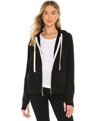 Electric and Rose Highland Hoodie - Black
