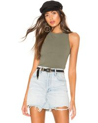 Free People - Hayley Racerback タンクトップ - Lyst