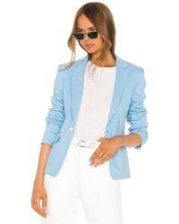 Rag & Bone - Lucy blazer en color azul - Lyst