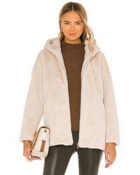 Elliatt Portofino Faux Fur Jacket - Weiß