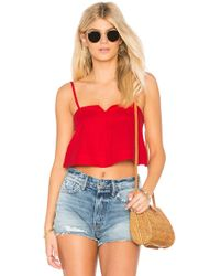 Clayton - Jesse Top In Red - Lyst