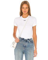 Off-White c/o Virgil Abloh Tシャツ - ホワイト