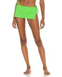 Frankie's Bikinis Marty Skirt - Grün