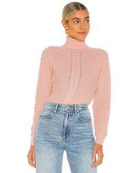 Only Hearts Turtleneck Bodysuit - Pink