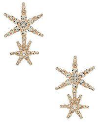 Jennifer Behr - Estrella Earrings In Rose Gold. - Lyst