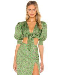 Camila Coelho Inez Top - Green