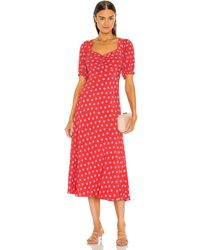 Diane von Furstenberg Jade ドレス - レッド