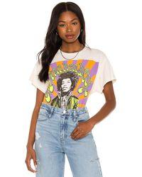 MadeWorn Jimi Hendrix Tシャツ - ホワイト