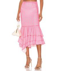 Nbd Ayesha Midi Skirt - Pink