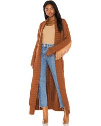 Urban Outfitters Rodeo Robe - Brown