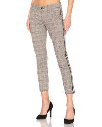 NSF - Tashi Skinny Crop Pant In Gray - Lyst