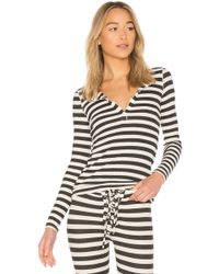 Stateside - Striped Thermal Top - Lyst