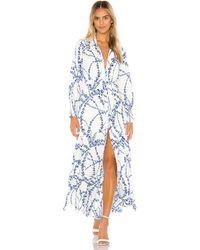 MISA Los Angles Evangeline-Kleid - Blau