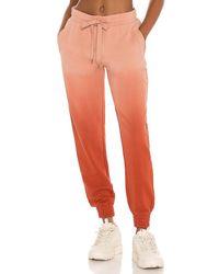The Upside Ombre Alena Track Pant - Orange