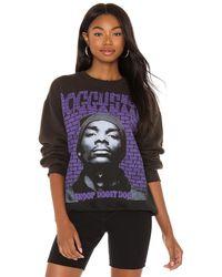 MadeWorn Snoop DOGG スウェットシャツ - ブラック