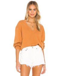 Agolde スウェットシャツ - オレンジ