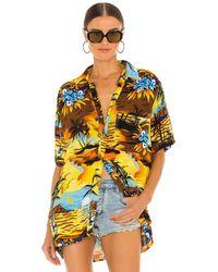 One Teaspoon Old Hollywood Hawaiian Shirt - Multicolor