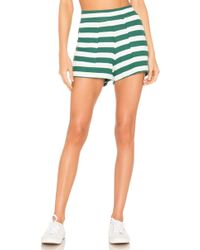 LNA Brushed Simon Short - Green
