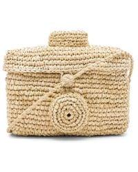 Nannacay - Sirikit Box Toquilla Bag - Lyst
