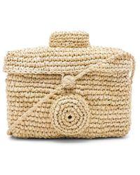 Nannacay - Sirikit Box Toquilla Bag In Beige. - Lyst