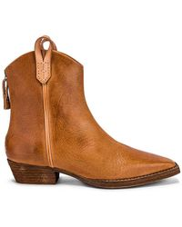 Free People X We The Free Wesley Ankle Boot - Brown