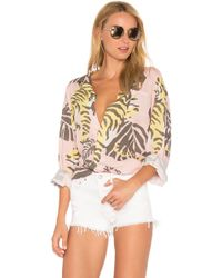 DOUBLE RAINBOUU Night Crawler Long Sleeve Shirt - Pink