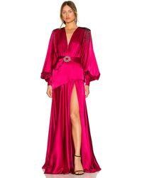 Bronx and Banco Carmen Gown - Pink