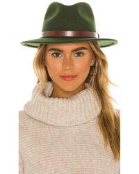 Brixton Шляпа Messer В Цвете Мох - Зеленый