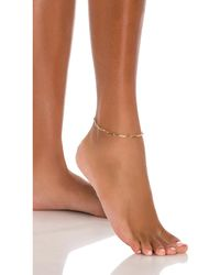 8 Other Reasons Pose Anklet - Mettallic