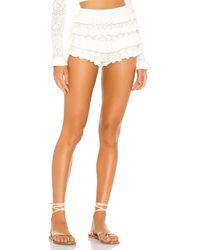 Tularosa Tatiana Knit Bloomers - White