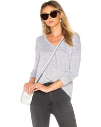 Rag & Bone - Hudson Tee In Grey - Lyst